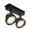 Plafondspot Lenox spot LED 1451ZW Zwart