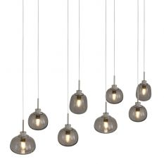 Hanglamp 8-lichts Bollique 2484ST Staal